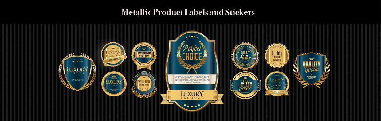 Metallic & Foil Labels