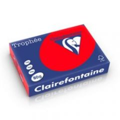 Clairefontaine Coral Red 80gsm