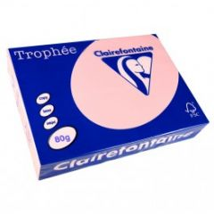 Clairefontaine Coral Rose 80gsm