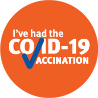 COVID-19 Vaccination Stickers